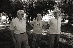 Malan family, with a manager of the Piamunteisa Association - Famiglia Malan con un responsabile della Associazione Piamunteisa