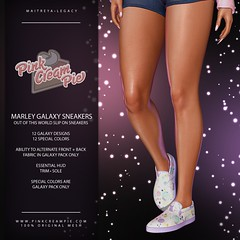 Marley Galaxy Sneakers @ Fly Buy Friday 9/17