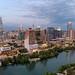 Downtown Austin, April 2021