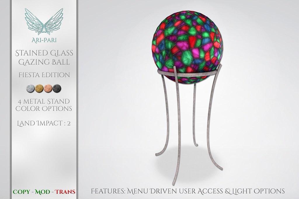 [Ari-Pari] Gazing Ball Fiesta Edition