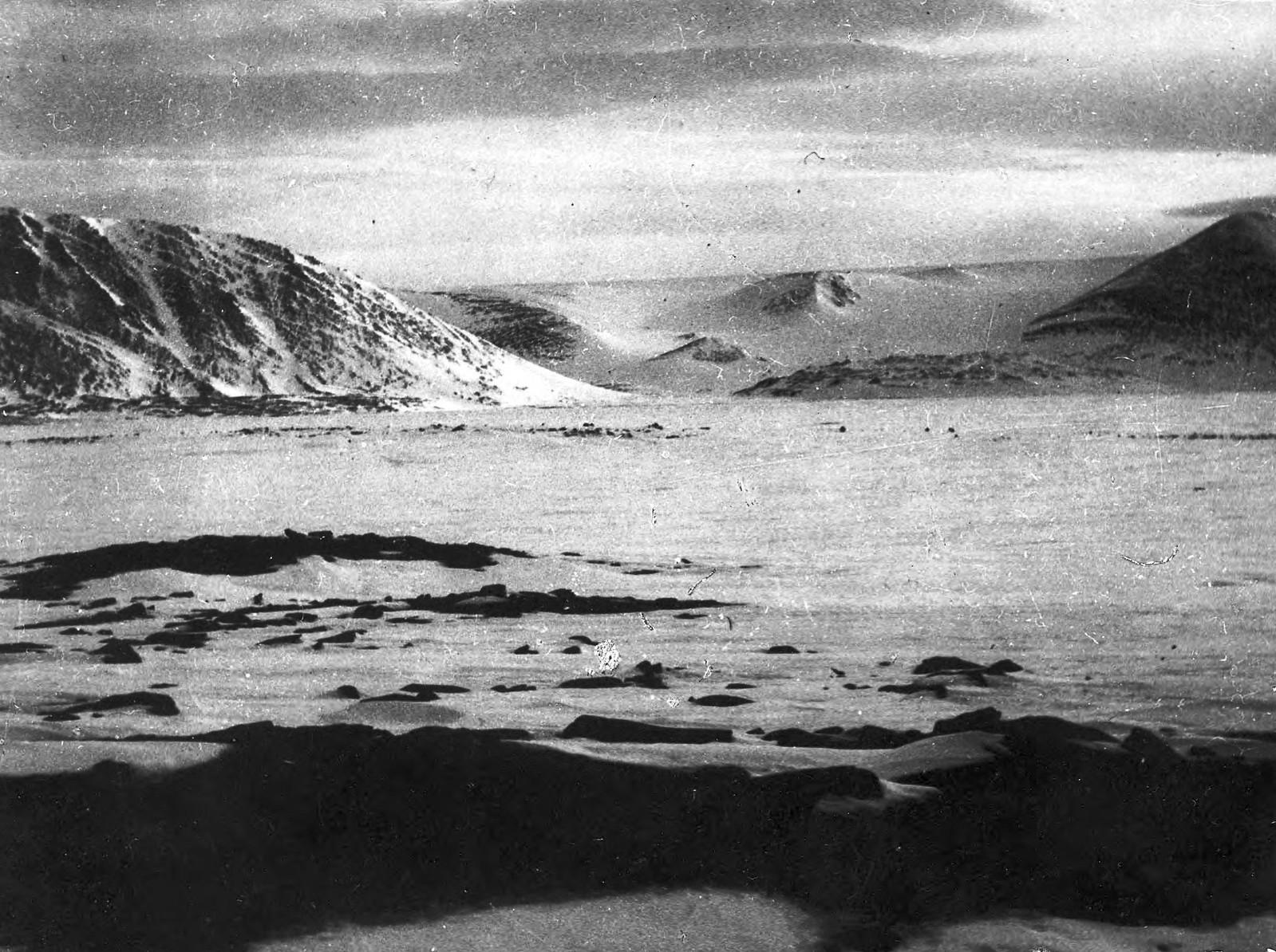 Вид на море во льду
