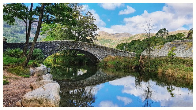 A fine day in Great Langdale