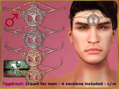 Bliensen - Yggdrasil - Crown for men