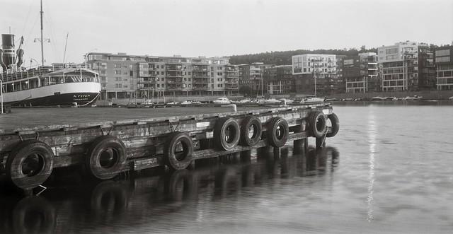 The pier in Tønsberg