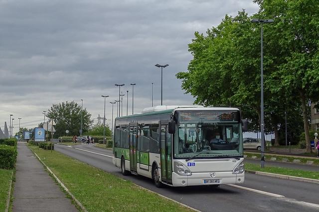RATP / CEAT - Ligne 421 - Citélis 12