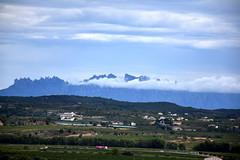 Boira a Montserrat des de Sant Martí Sarroca.