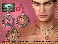 Bliensen - Yggdrasil - necklace for men
