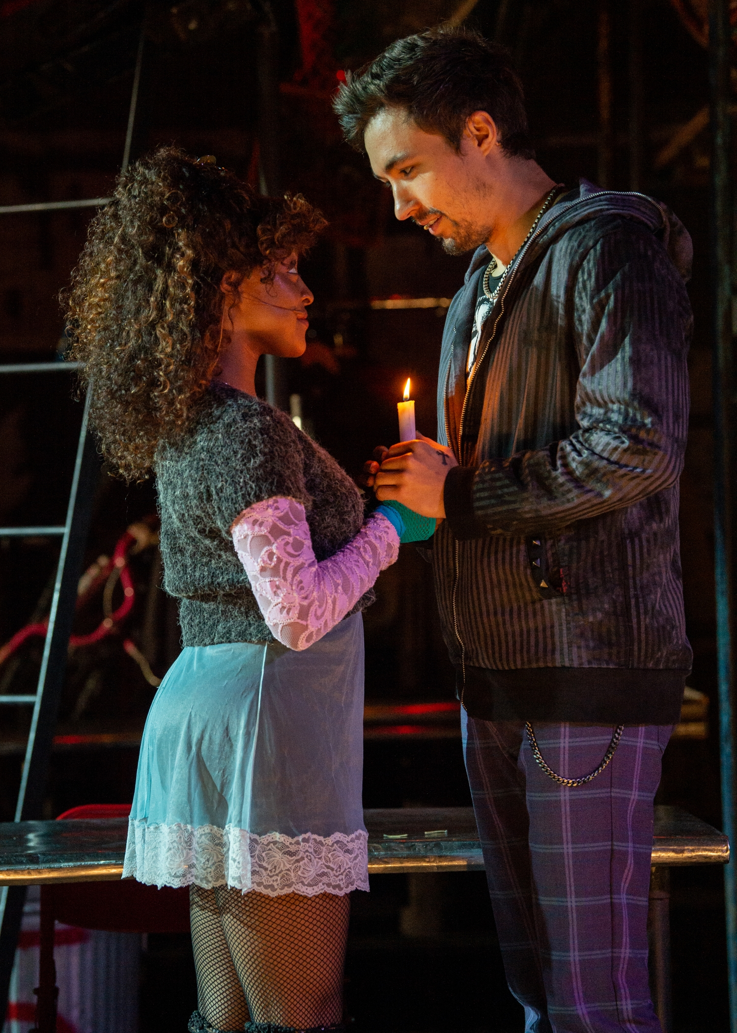 Broadway In Detroit Reopens With 'RENT' 25th Anniversary Farewell Tour - Wading In Big Shoes   Photo by Amy Boyle