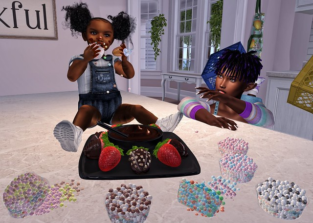 Sister-Sitting Blues: The Chocolate & Cannies Edition