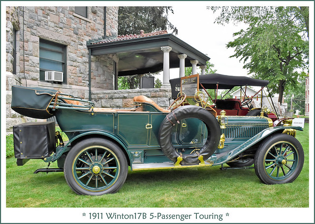 1911 Winton 17B 5-Passenger Touring