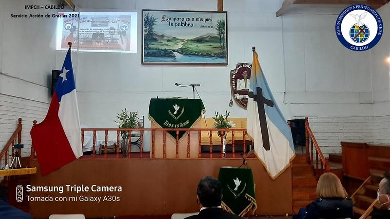 Servicio Acción de Gracias por la Patria 2021, IMPCH Cabildo