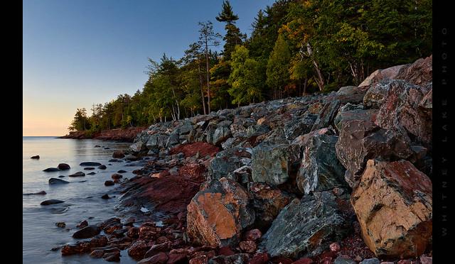 Dawn at Presque Isle