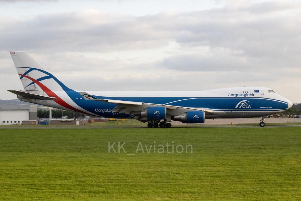 Cargo Logic Air   Boeing 747-446F   G-CLAA