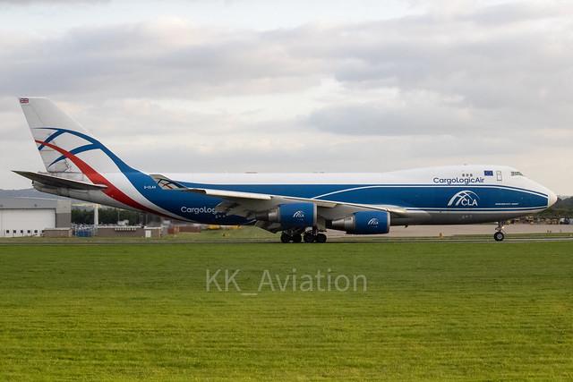 Cargo Logic Air | Boeing 747-446F | G-CLAA