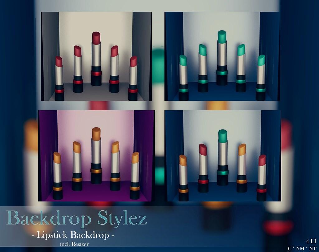 Backdrop Stylez – Lipstick Backdrop –
