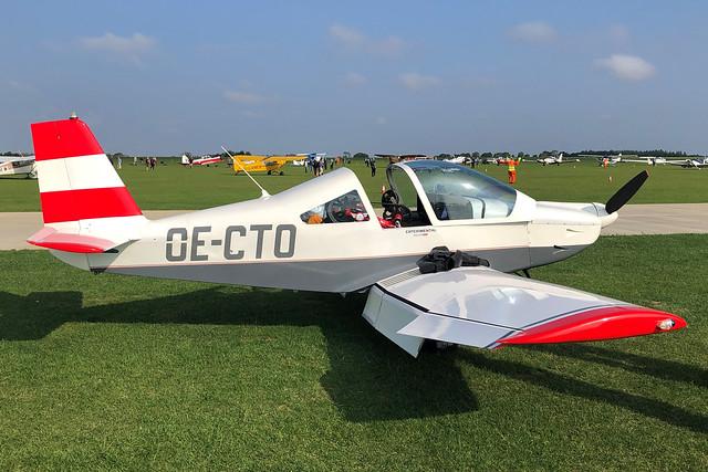 OE-CTO  -  Brandli BX-2 Cherry c/n 115  -  EGBK 5/9/21