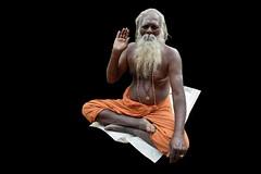 India - Tamil Nadu - Tiruvannamalai - Arunachala Mountain - Yogi - 10d