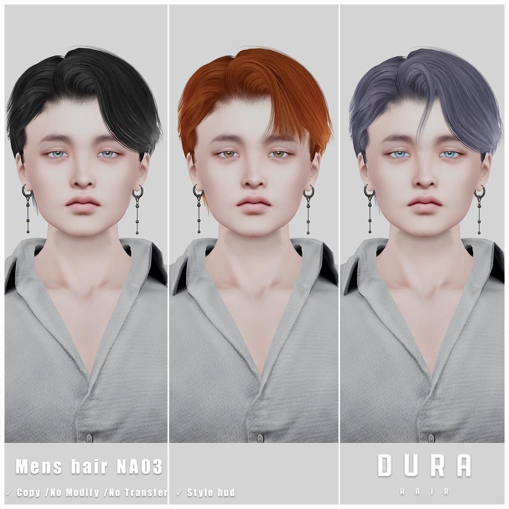 DURA-NA03(Mens hair)
