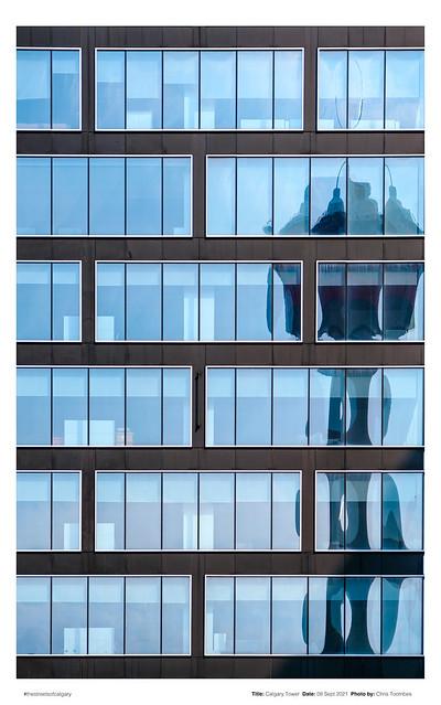 Calgary Tower Abstract