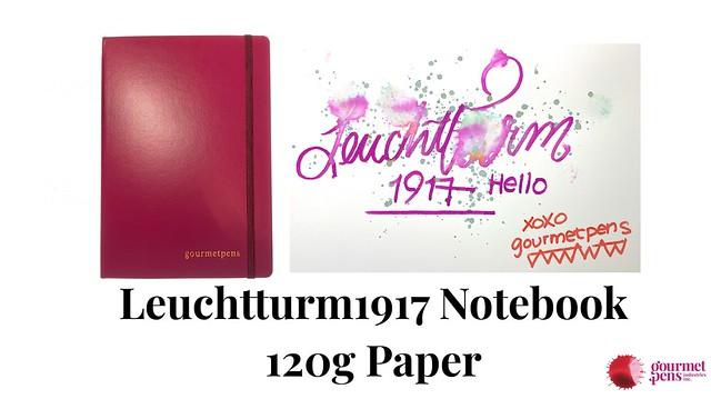 Leuchtturm1917 Notebook 120g Paper