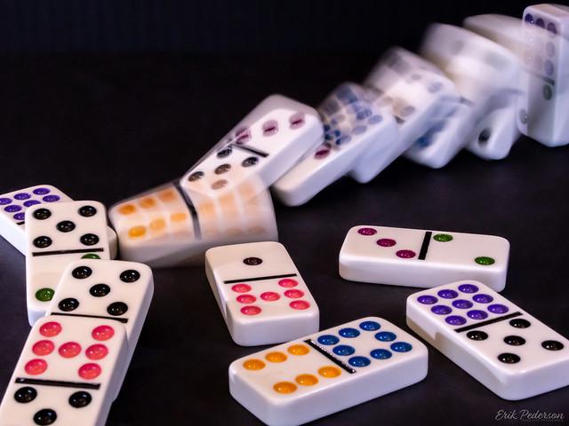 Falling Dominoes