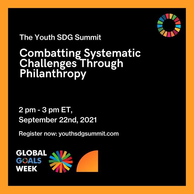 Tania Tome speaker at SDG Summit 2021