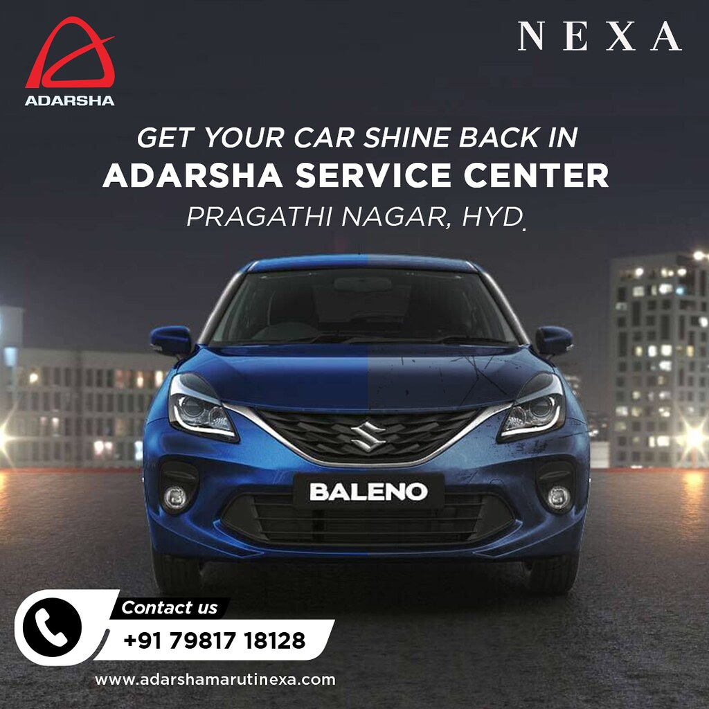 Get your Dream Baleno Car from Nexa showroom in Hyderabad - Adarsha