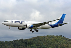 9K-APG Kuwait Airways Airbus A330-841 at Edinburgh Turnhouse Airport on 11 September 2021
