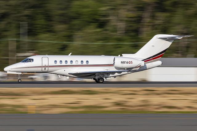 N816QS - Cessna 700 Citation Longitude - Netjets - KBFI - 07 Sept 2021