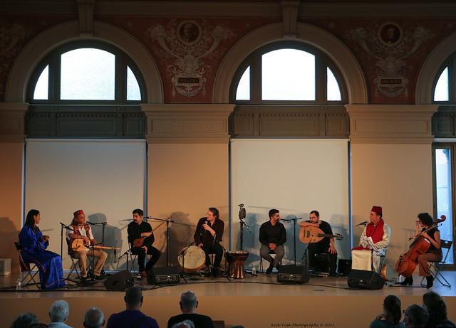 REFA @ Hide & Seek Festival Muziekpublique  in Brussel - Ancienne École Vétérinaire / Veeartsenijschool