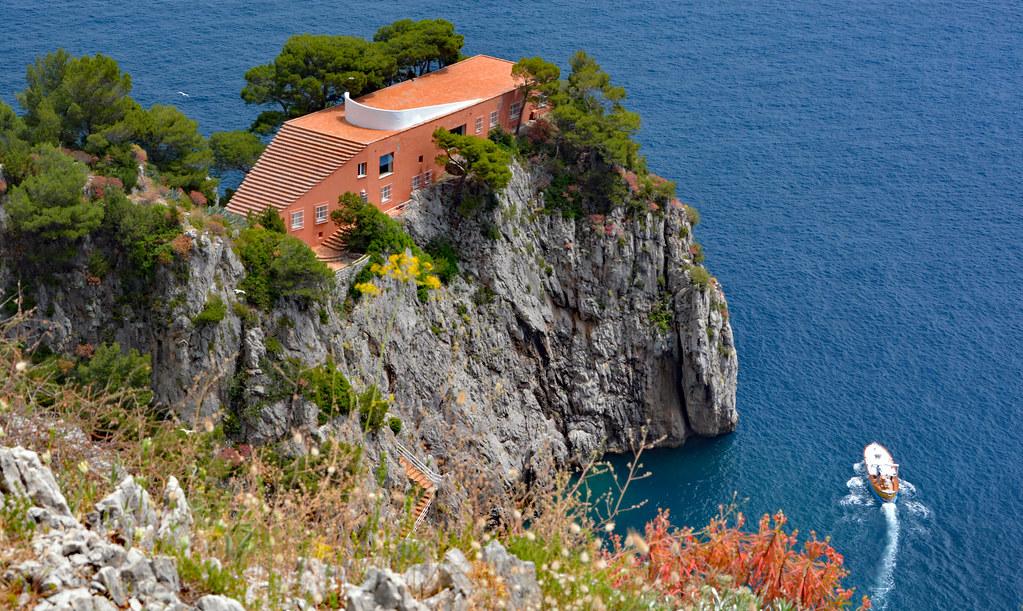 Villa Malaparte, Capri, Italia