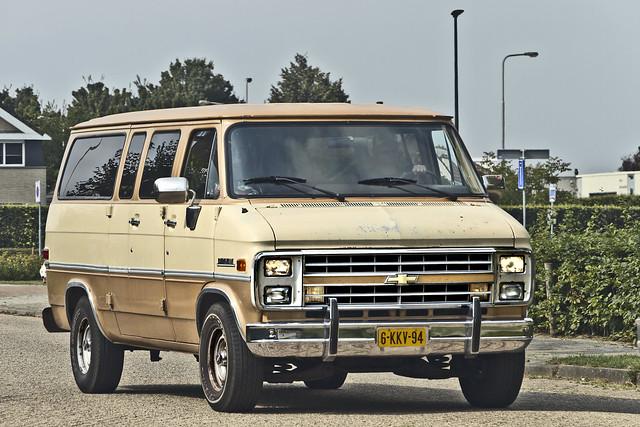 Chevrolet Beauville Chevy Van 1986 (6217)