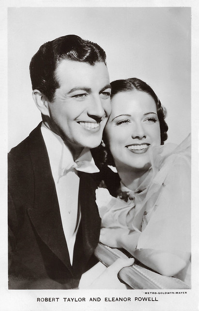 Robert Taylor and Eleanor Powell in Broadway Melody of 1938 (1937)