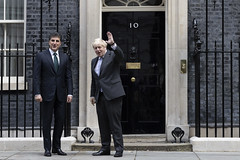 Prime Minsiter Boris Johnson meets Kurdish PM Nechirvan Barzani