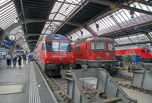 SBB Re 460 054 Zürich Hbf
