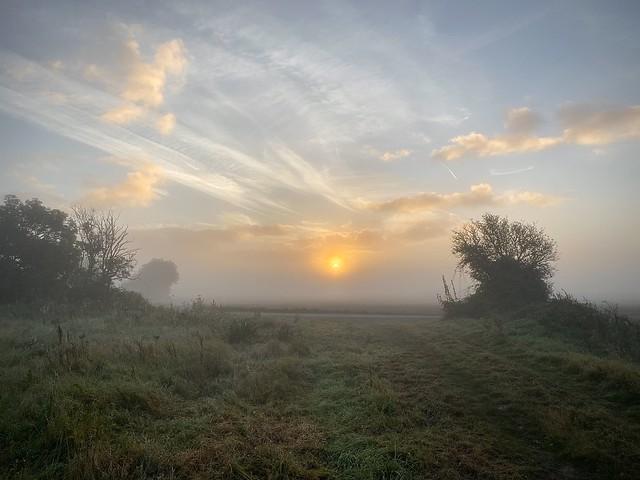 Sunrise on Romney Marsh