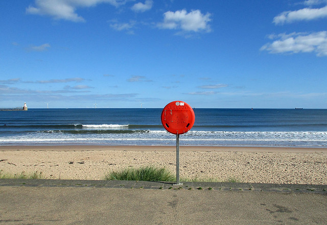 Beach lifebuoy