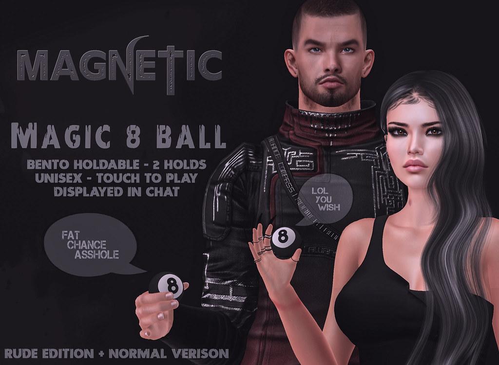 Magnetic – Magic 8 Ball
