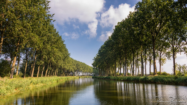 Damse Vaart or Canal Brugge Sluis
