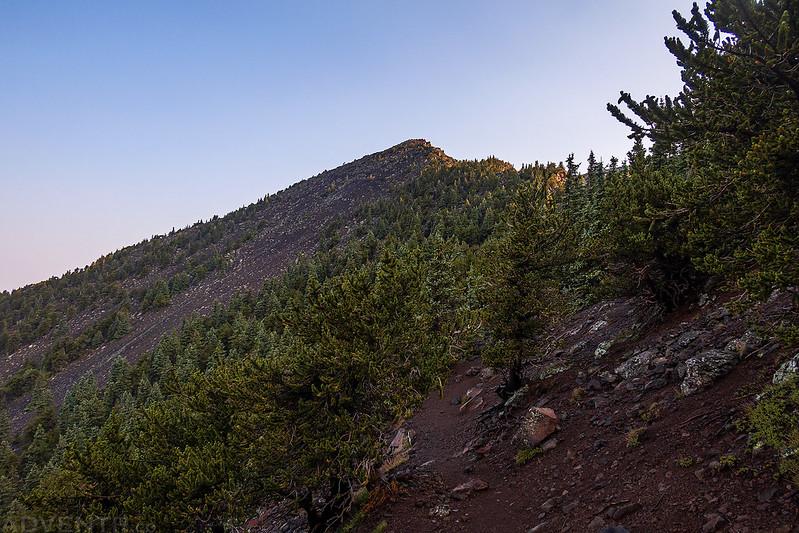 Nearing The Ridge