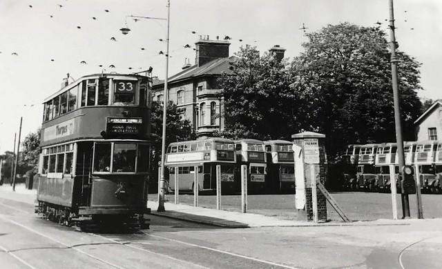 London Transport Tram Route 33