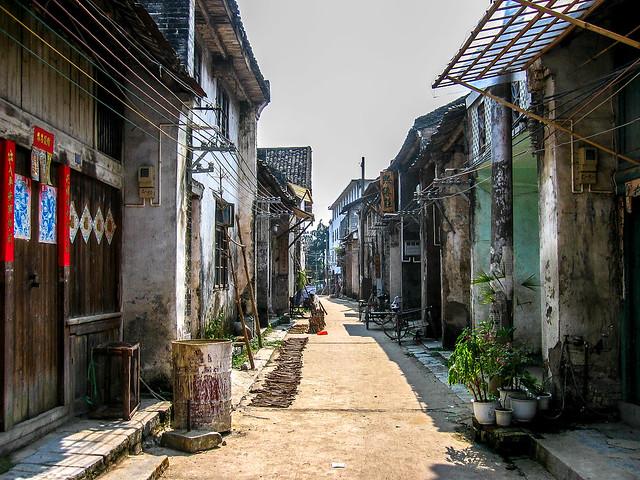 just a street in Yangshuo