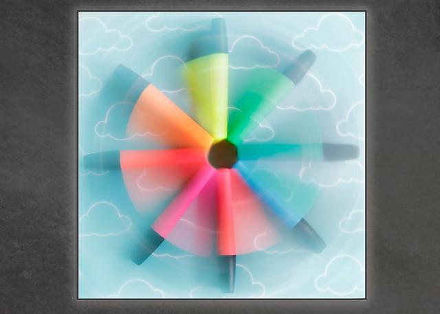 Colour wheeling