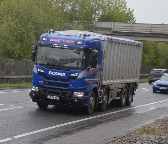 Robert Mason MV69 KSK At Welshpool