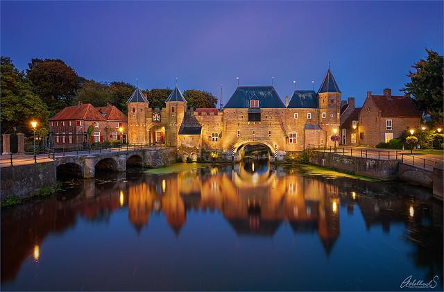 An evening in Amersfoort, Netherlands