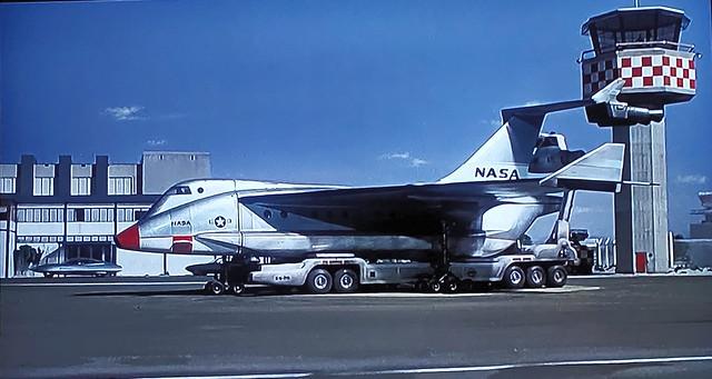 NASA Aircraft on the Apron.