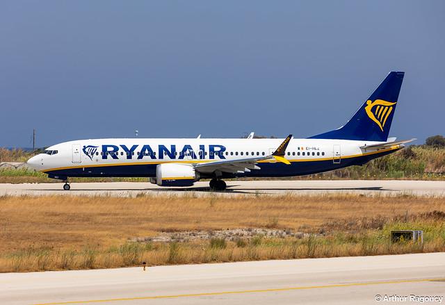 Ryanair Boeing 737 MAX 8-200 EI-HEZ (RHO)