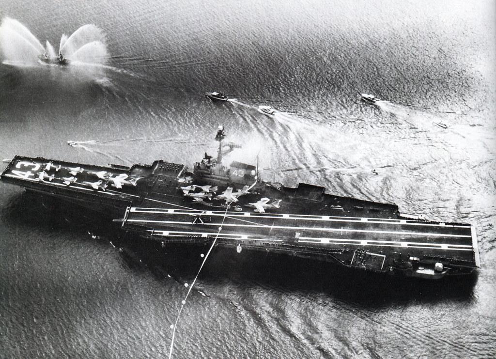 Vietnam War 1965 - Hàng không mẫu hạm USS Coral Sea (CVA-43) - Coming home