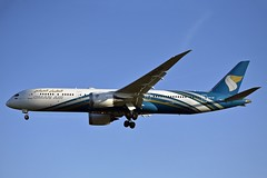 Oman Air A4O-SF Boeing 787-9 Dreamliner cn/39294-712 @ EGLL / LHR 14-05-2019