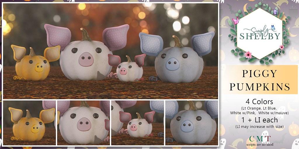 Simply Shelby Piggy Pumpkins